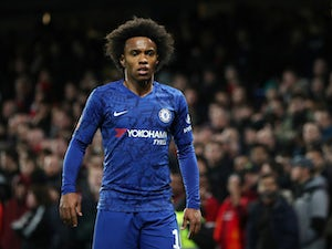 Shirt numbers available to Willian at Arsenal