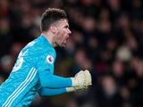 Watford goalkeeper Ben Foster pictured in February 2020
