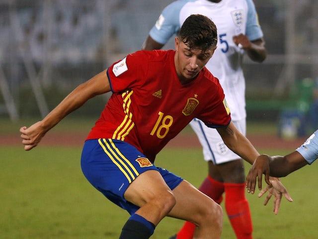 Cesar Gelabert pictured for Spain in 2017
