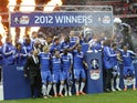 Chelsea celebrate beating Liverpool in the 2012 FA Cup final