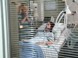 Shona in hospital in Coronation Street in January 2020