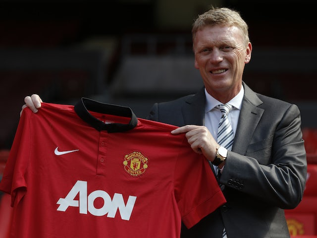 DavidMoyes pictured after taking over at Man Utd in July 2013