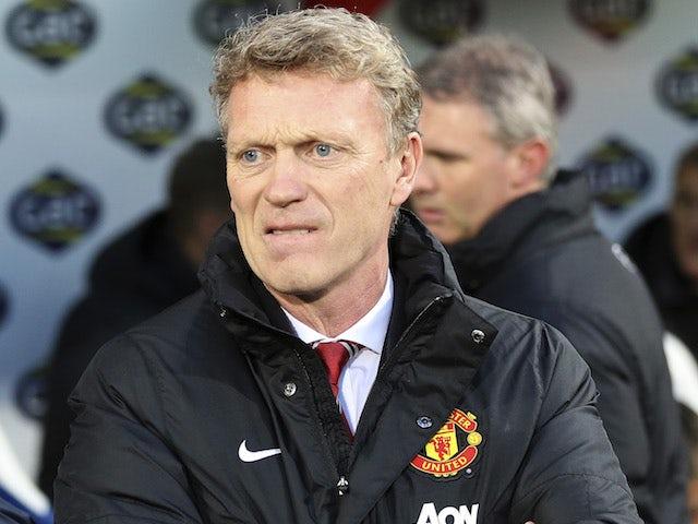 DavidMoyes pictured as Man Utd boss in February 2013