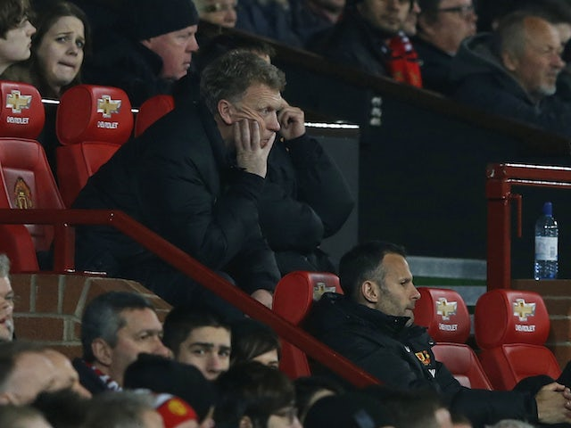 DavidMoyes pictured as Man Utd boss in March 2014
