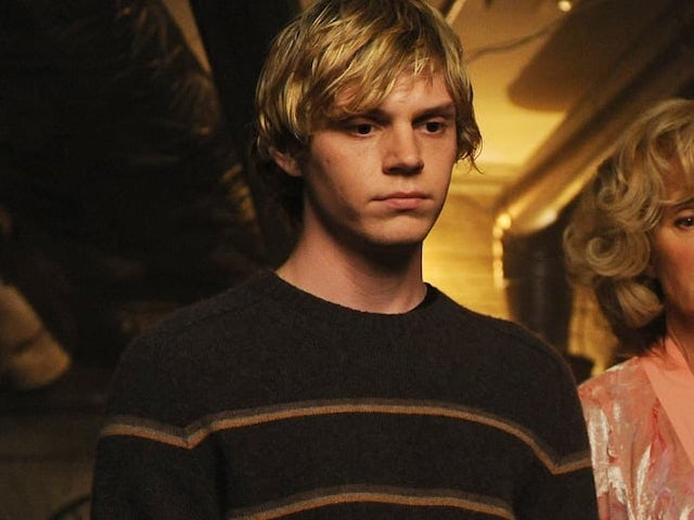 Evan Peters in his American Horror story season one pomp