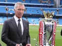 Graeme Souness pictured next to the Premier League trophy