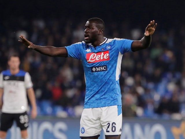 Koulibaly pours cold water on Liverpool, Man Utd links