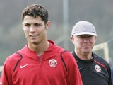 Former Manchester United boss Sir Alex Ferguson and Cristiano Ronaldo pictured in October 2006