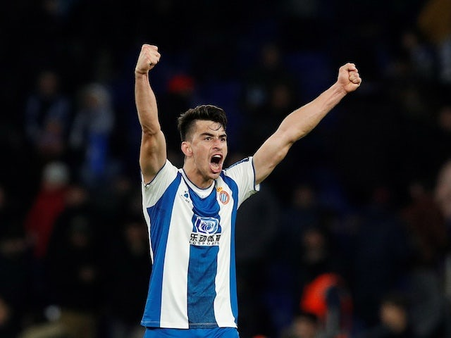 Espanyol midfielder Marc Roca pictured in January 2020