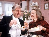 Mavis and Derek Wilton in Classic Coronation Street