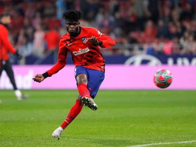 Atletico willing to cash in on Thomas Partey?