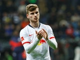 RB Leipzig forward Timo Werner pictured in January 2020