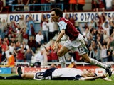 Yossi Benayoun scores for West Ham against Tottenham in 2006