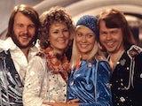 ABBA performing Waterloo