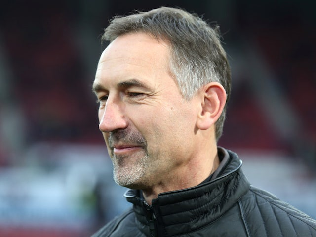 Mainz 05 coach Achim Beierlorzer pictured in December 2019