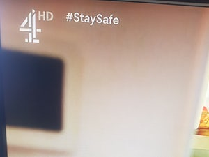 Channel 4 updates DOGs with 'Stay Safe' message