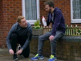Craig and David in Coronation Street on May 15, 2020