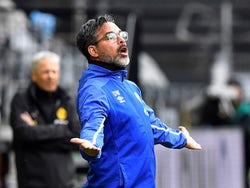 Schalke head coach David Wagner pictured on May 16, 2020