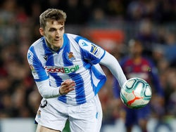 Real Sociedad defender Diego Llorente pictured in March 2020