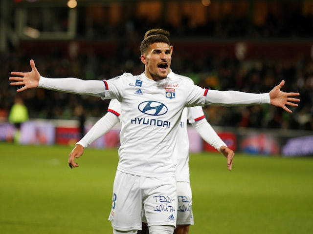 Liverpool 'firmly in the race for Houssem Aouar'