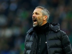 Borussia Monchengladbach manager Marco Rose pictured in February 2020