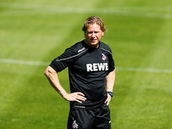 FC Koln manager Markus Gisdol pictured in May 2020