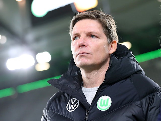 Wolfsburg head coach Oliver Glasner pictured in March 2020