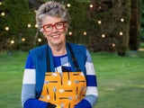 Prue Leith on the Great British Bake Off