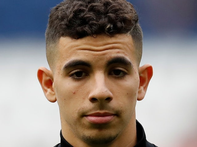 Angers full-back Rayan Ait-Nouri pictured in October 2019