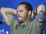 Tom Hardy pictured in September 2014