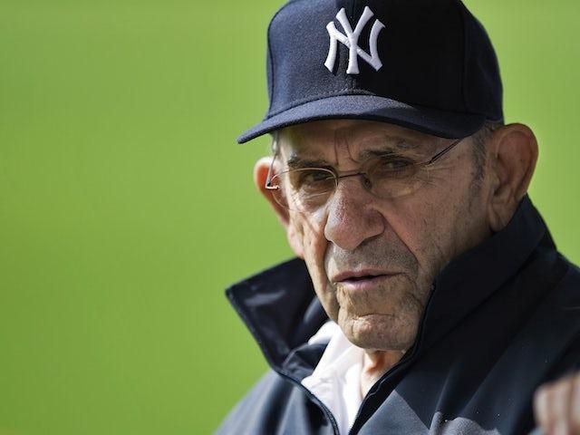 Yogi Berra pictured in 2011