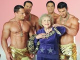 Betty White cavorts with shirtless men and a giant snake in the I'm Still Hot video