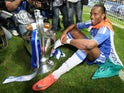 Didier Drogba with the Champions League trophy in 2012.