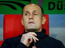 Augsburg manager Heiko Herrlich pictured in September 2018