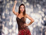 Katya Jones in Strictly Come Dancing