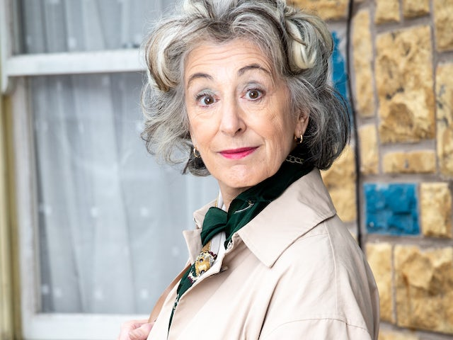 Maureen Lipman as Evelyn Plummer in Coronation Street