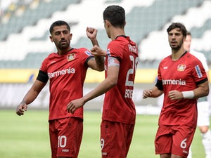Kai Havertz shines again as Bayer Leverkusen move third