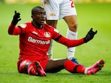 Bayer Leverkusen's Moussa Diaby pictured in March 2020