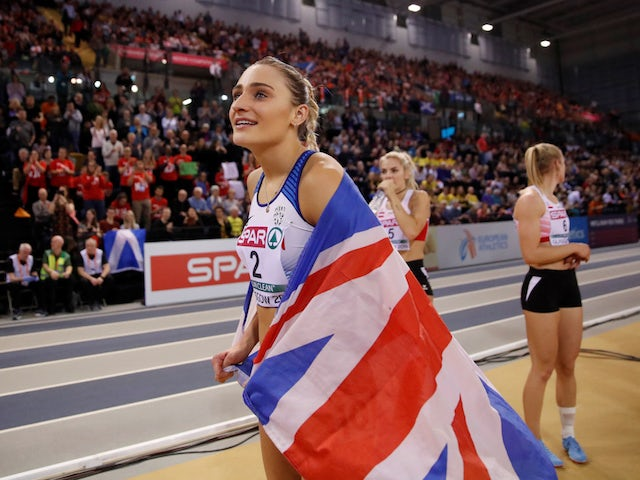 Niamh Emerson sets sights on medals once competitive action returns