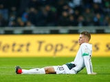 Borussia Monchengladbach defender Nico Elvedi pictured in February 2020