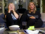 Nicole Appleton and Mel Blatt on Celebrity Gogglebox