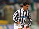 Roberto Baggio pictured for Juventus in 1994-95