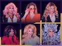 Six of the queens from RuPaul's Drag Race All Stars season five