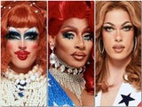 The final three queens on RuPaul's Drag Race season 12