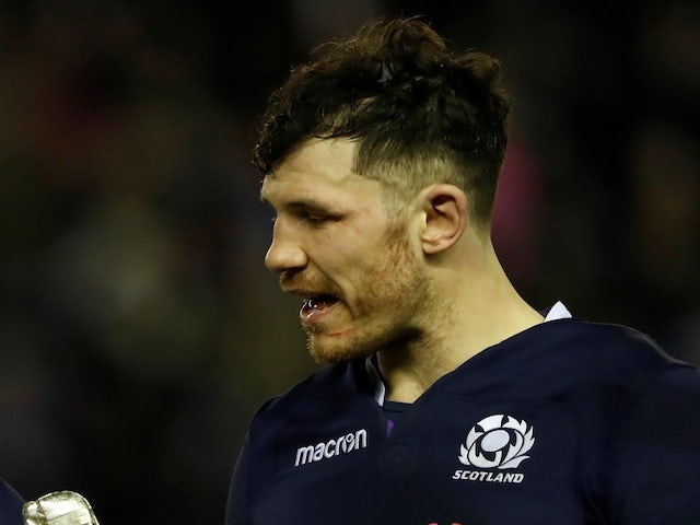 Former Scotland international Tim Swinson hangs up his boots