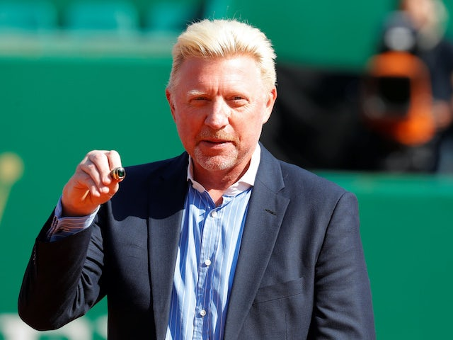 Boris Becker pictured in April 2018