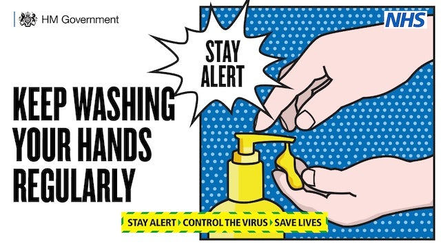Latest coronavirus PSA advert