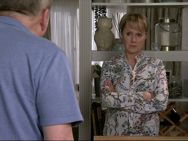 Geoff admits the truth about escorts on Coronation Street on June 5, 2020