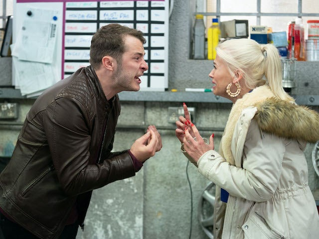 Ben and Lola argue on EastEnders on June 1, 2020