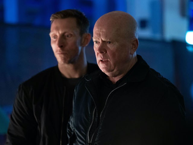 Phil watches on as things spiral on EastEnders on June 1, 2020